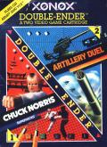 Xonox Double-Ender: Artillery Duel and Chuck Norris Superkicks Atari 2600 Front Cover