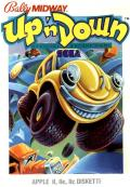 Up 'n Down Apple II Front Cover