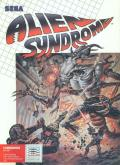 Alien Syndrome Commodore 64 Front Cover