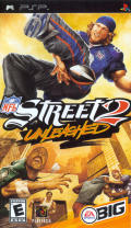 NFL Street 2 PSP Front Cover