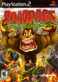 Rampage: Total Destruction PlayStation 2 Front Cover