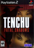 Tenchu: Fatal Shadows PlayStation 2 Front Cover