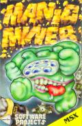 Manic Miner MSX Front Cover