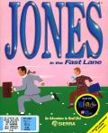 Jones in the Fast Lane: CD-ROM DOS Front Cover