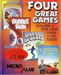 Four Great Games: Volume 2 ZX Spectrum Front Cover