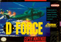 D-Force SNES Front Cover