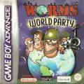 Worms World Party Game Boy Advance Front Cover