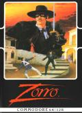 Zorro Commodore 64 Front Cover