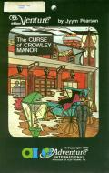 The Curse of Crowley Manor Atari 8-bit Front Cover