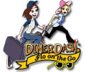 Diner Dash: Flo on the Go Macintosh Front Cover