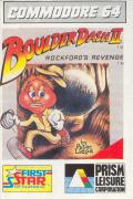Boulder Dash II: Rockford's Revenge Commodore 64 Front Cover