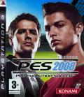 PES 2008: Pro Evolution Soccer PlayStation 3 Front Cover