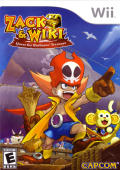 Zack & Wiki: Quest for Barbaros' Treasure Wii Front Cover