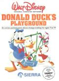 Donald Duck's Playground TRS-80 CoCo Front Cover