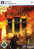 Age of Empires III: The Asian Dynasties Windows Front Cover