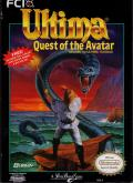 Ultima IV: Quest of the Avatar NES Front Cover