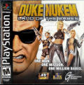 Duke Nukem: Land of the Babes PlayStation Front Cover