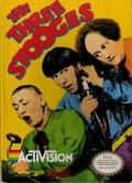The Three Stooges NES Front Cover
