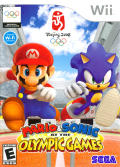 Mario & Sonic at the Olympic Games Wii Front Cover