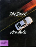 The Duel: Test Drive II Apple IIgs Front Cover