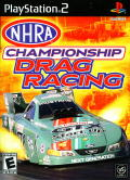 NHRA Championship Drag Racing PlayStation 2 Front Cover