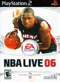 NBA Live 06 PlayStation 2 Front Cover