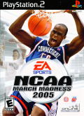 NCAA March Madness 2005 PlayStation 2 Front Cover