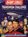 Star Trek: The Next Generation - The Transinium Challenge DOS Front Cover