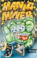 Manic Miner Commodore 64 Front Cover