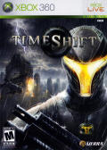 TimeShift Xbox 360 Front Cover