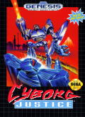 Cyborg Justice Genesis Front Cover