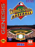 World Series Baseball Genesis Front Cover