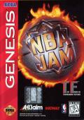 NBA Jam Tournament Edition Genesis Front Cover