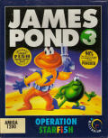 James Pond 3: Operation Starfish Amiga Front Cover