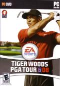 Tiger Woods PGA Tour 08 Windows Front Cover