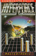 Hyperforce Commodore 64 Front Cover