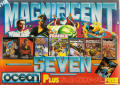 The Magnificent Seven Commodore 64 Front Cover