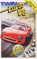 Twin Turbo V8 ZX Spectrum Front Cover