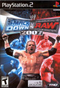WWE SmackDown vs. Raw 2007 PlayStation 2 Front Cover