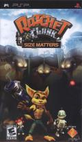 Ratchet & Clank: Size Matters PSP Front Cover