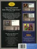 The Bard's Tale III: Thief of Fate DOS Back Cover