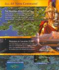Civilization II: Test of Time Windows Inside Cover Right Flap
