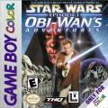 Star Wars: Episode I - Obi-Wan's Adventures Game Boy Color Front Cover