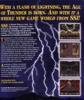 World of Aden: Thunderscape DOS Back Cover