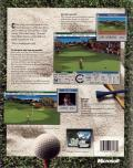 Microsoft Golf 3.0 Windows Back Cover