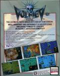 Volfied DOS Back Cover