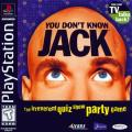 You Don't Know Jack PlayStation Front Cover