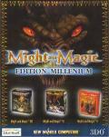 Might and Magic: Millennium Edition Windows Front Cover