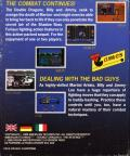 Double Dragon II: The Revenge DOS Back Cover
