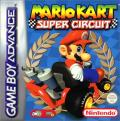 Mario Kart Super Circuit Game Boy Advance Front Cover